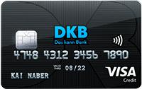 Kreditkarte von der DKB