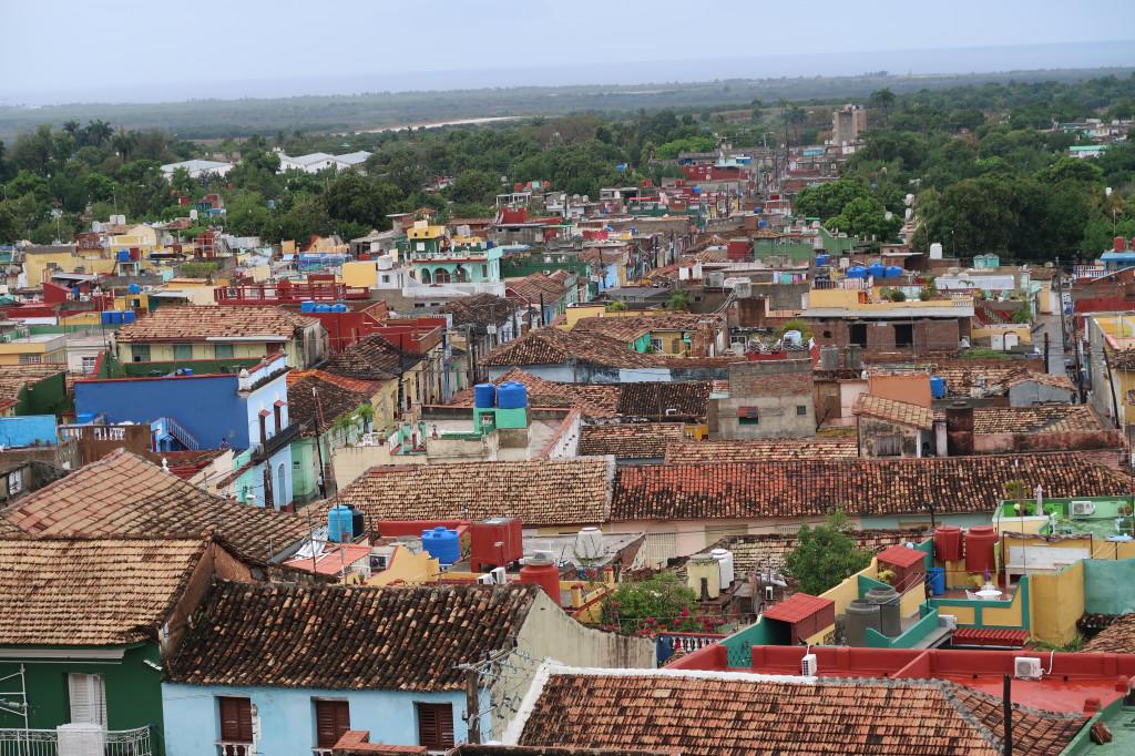 Trinidad von oben