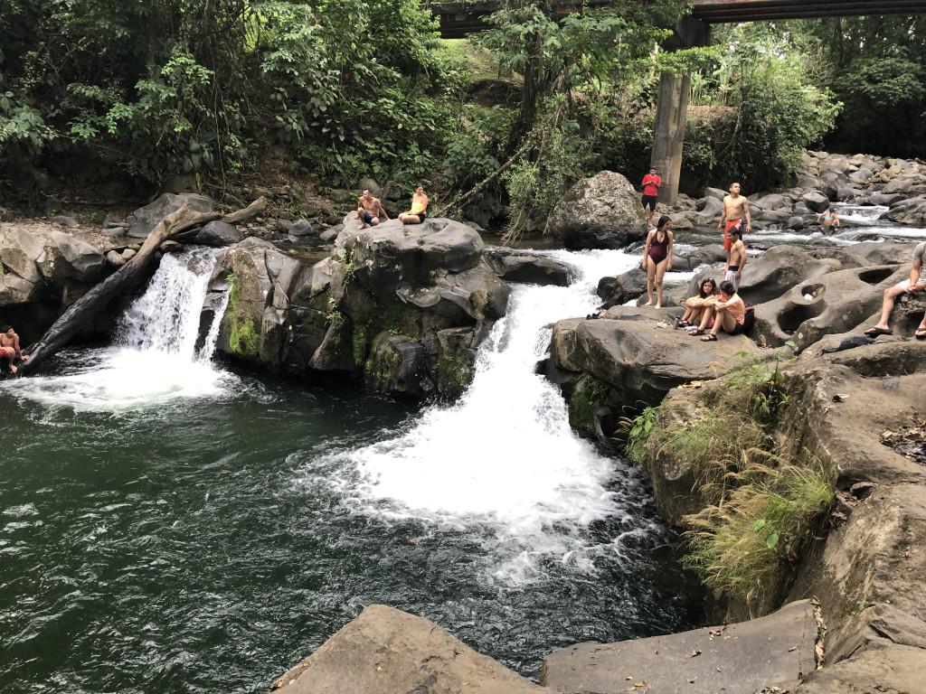 Der Fluss in La Fortuna