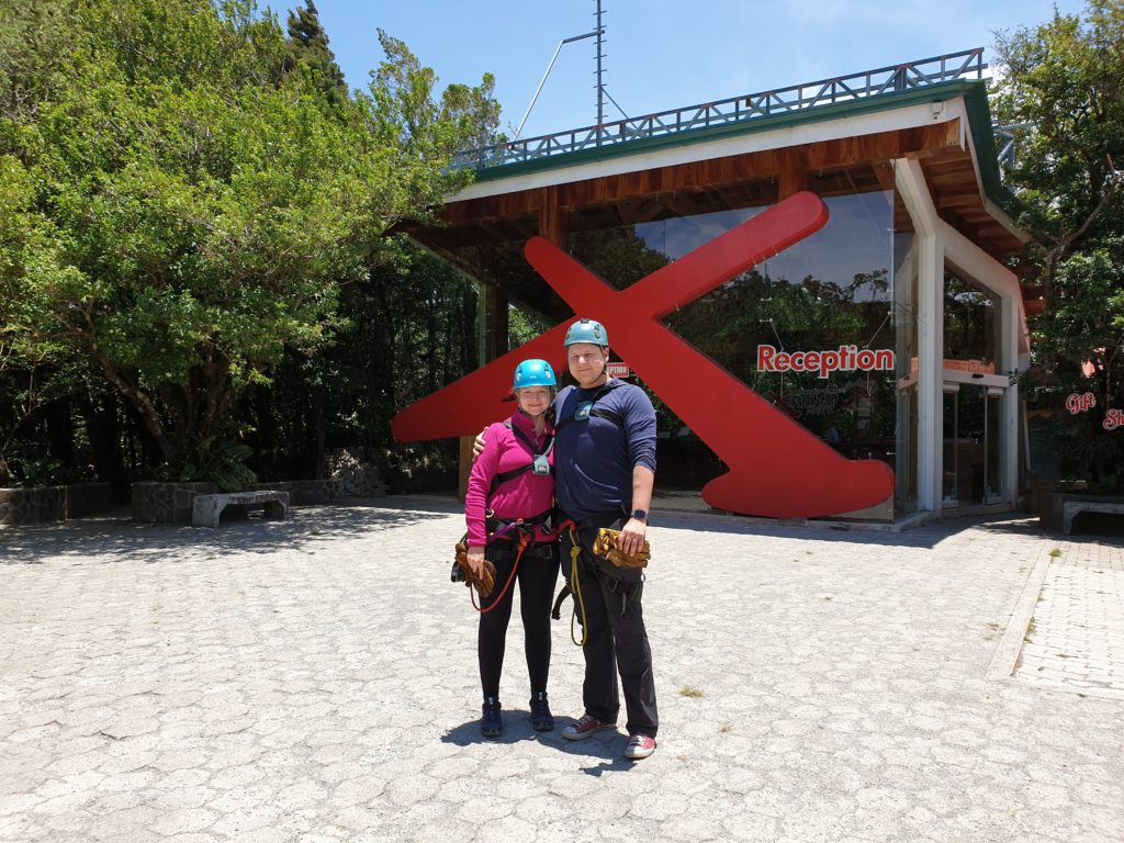 Unser Ziplining Abenteuer in Monteverde