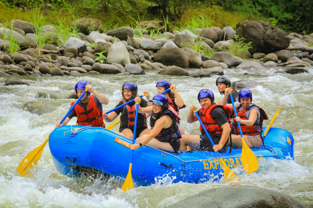 Rafting auf Río Pacuare