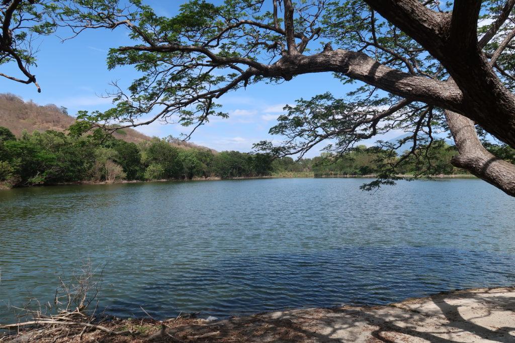 Der See im Nationalpark Charco Verde