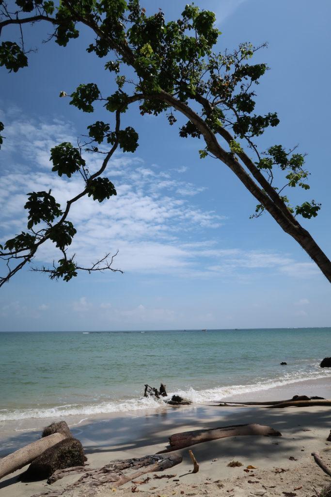 Strand in Puerto Viejo