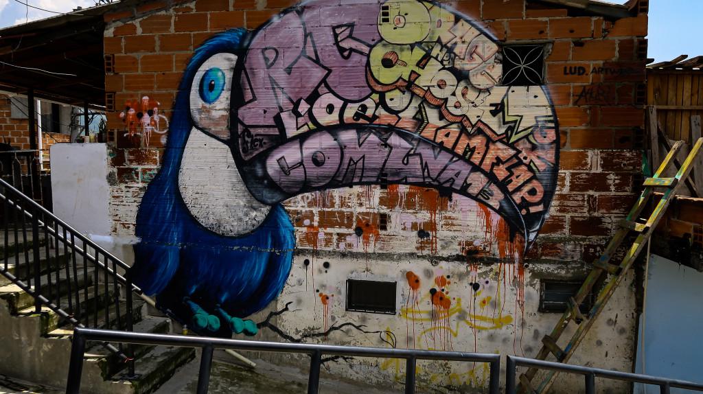 Streetart Vogel Communa13