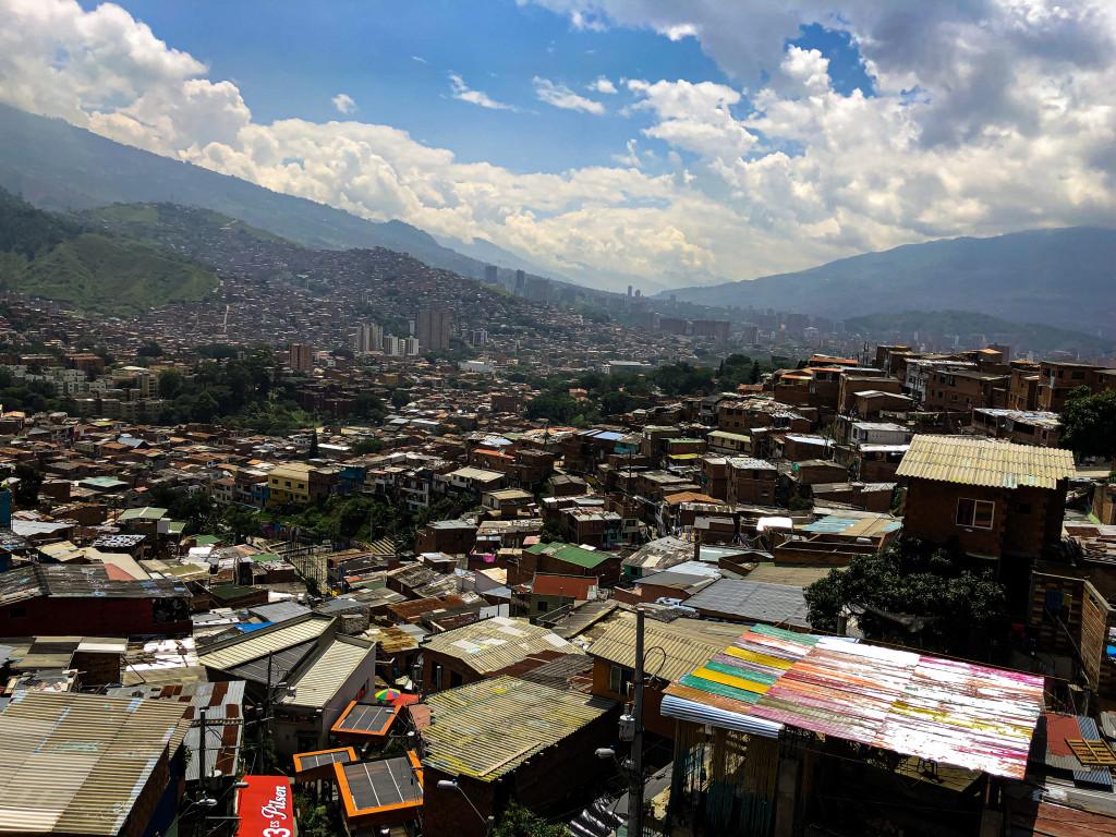 Blick auf Medellin