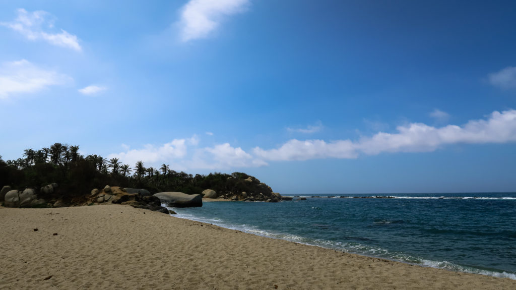 Strand im Tayrona Nationalpark
