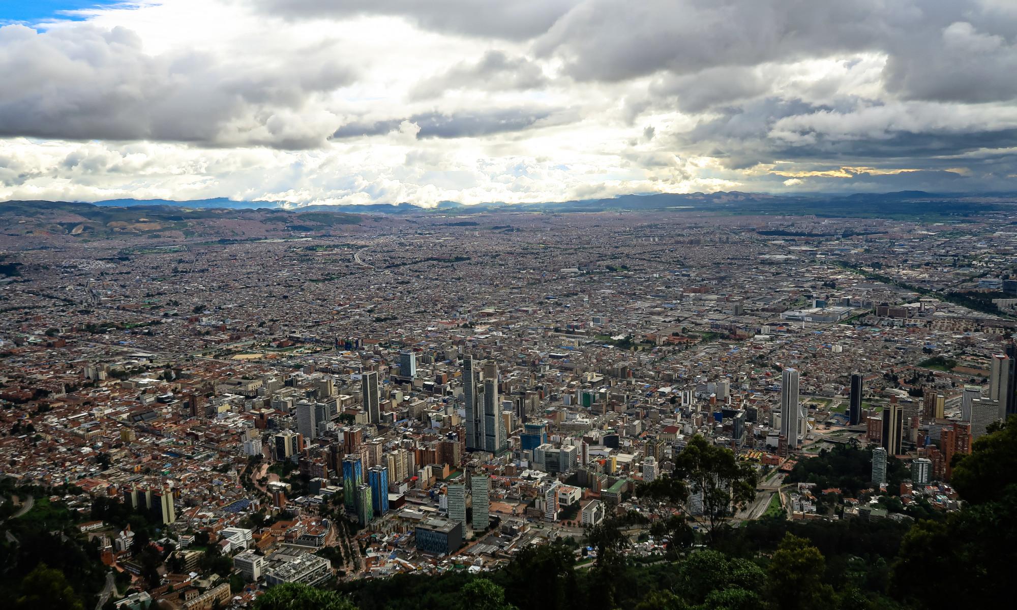 Bogota, Hauptstadt Kolumbiens