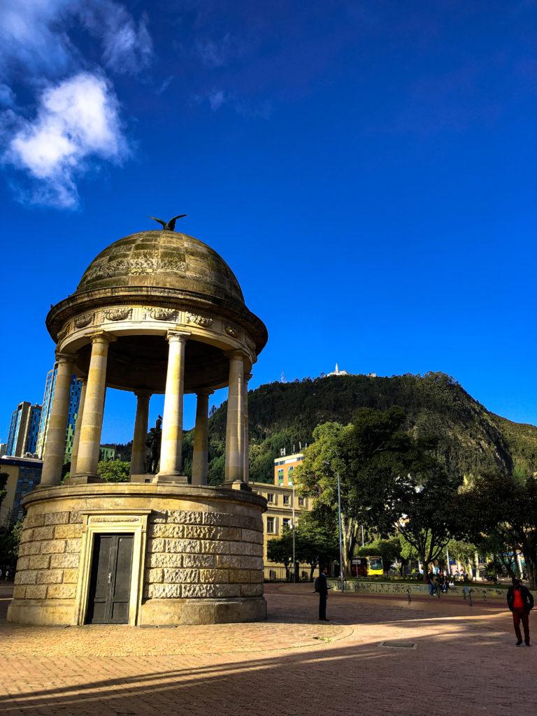 Journalists' Park in Bogotá