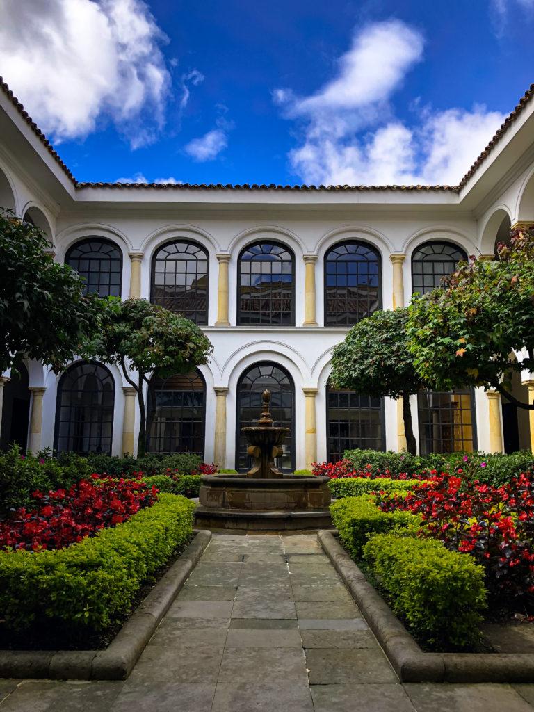 Das kostenlose Kunstmuseum in Bogota