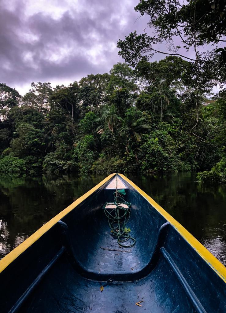Aussicht vom Boot
