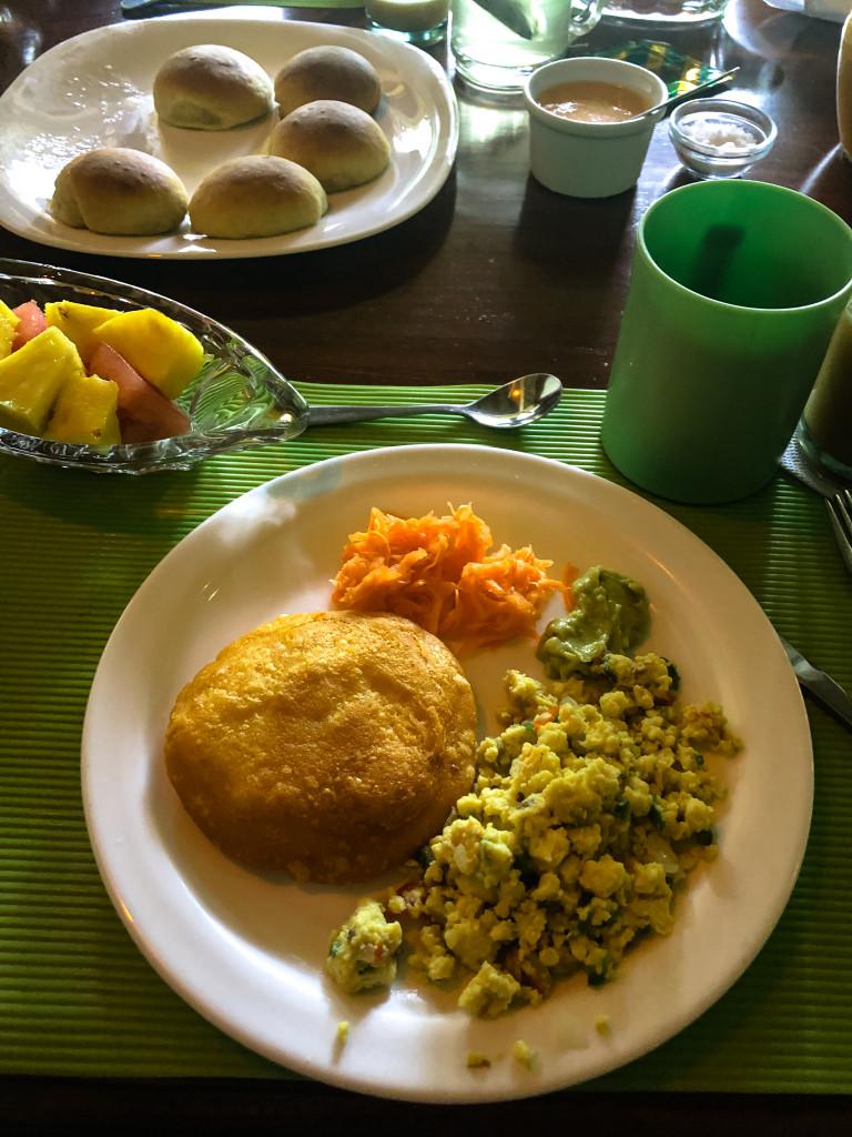 Frühstück Cuyabeno